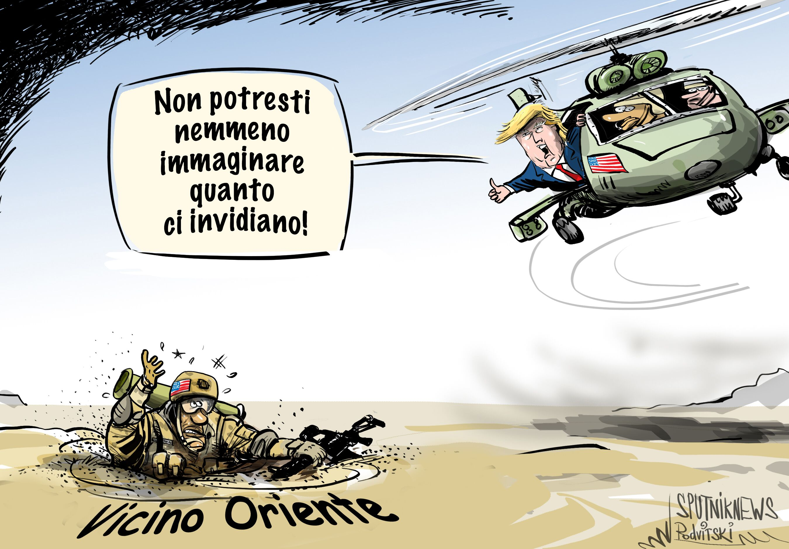 Vignetta potenza militare degli USA
