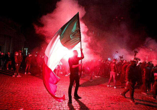 Proteste anti-Covid a Roma