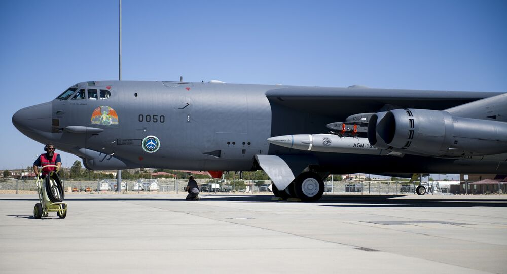 B-52 (foto d'archivio)