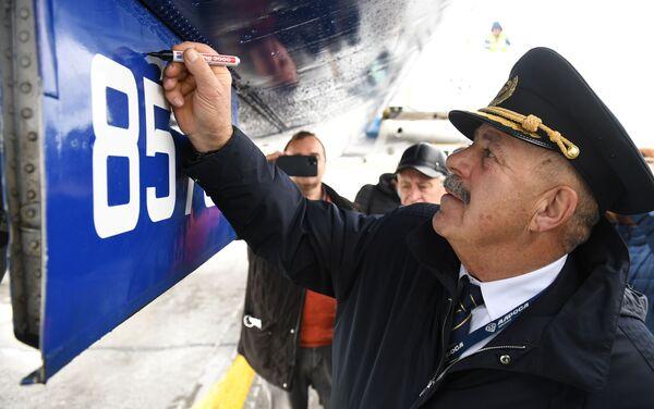 Mirny-Novosibirsk, l'ultimo volo del Tu-154 - Sputnik Italia