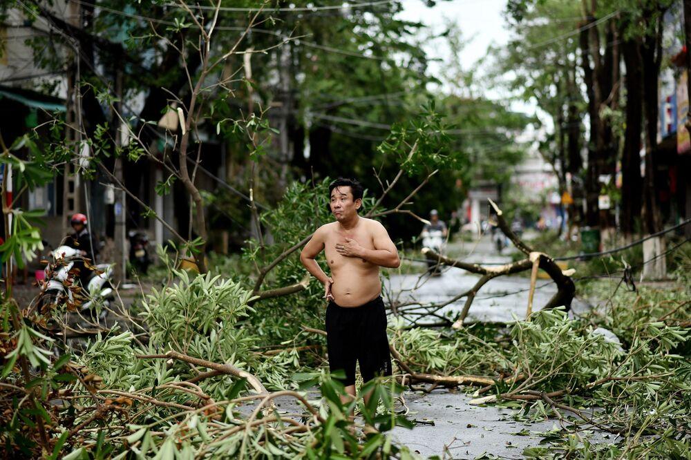 Le conseguenze del tifone Molave in Vietnam, 28 ottobre 2020.