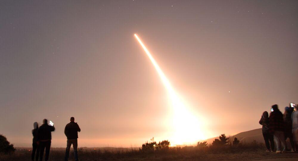 Minuteman III lancio