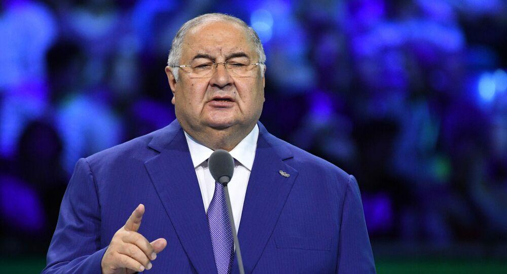 Magnate russo Alisher Usmanov