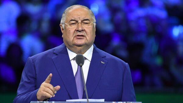 Magnate russo Alisher Usmanov - Sputnik Italia