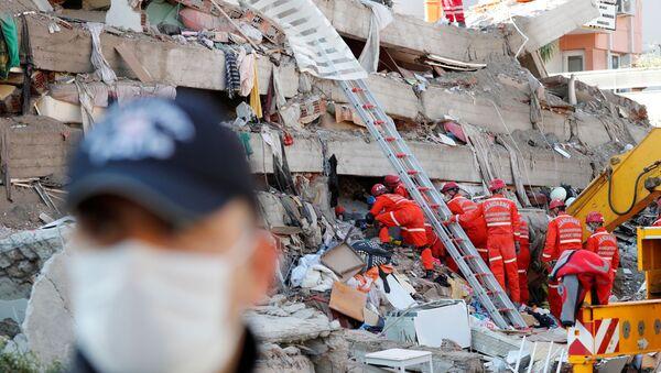 Terremoto a Smirne - Sputnik Italia