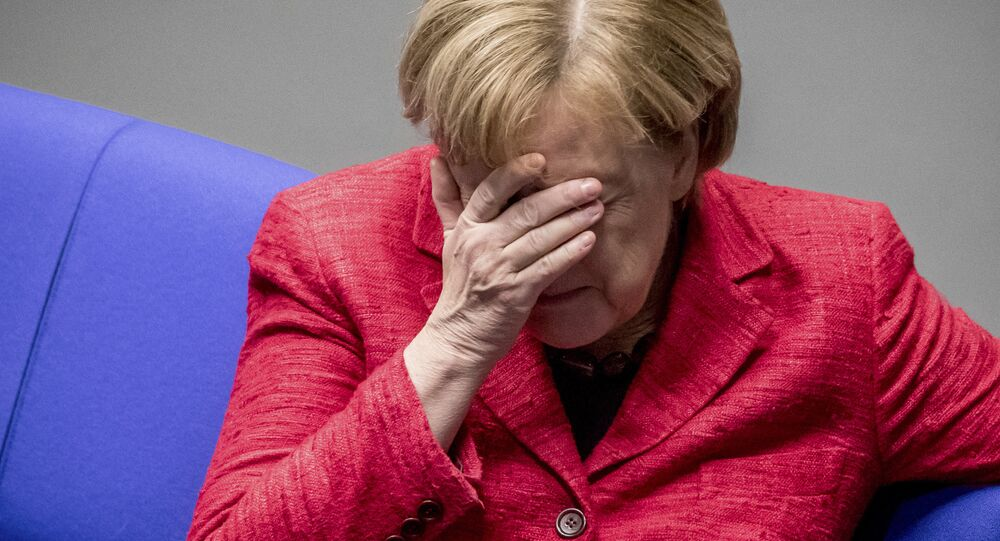 Angela Merkel al Bundestag