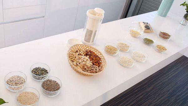 Imagen promocional del producto Vegan Milker, de Chufamix. - Sputnik Italia