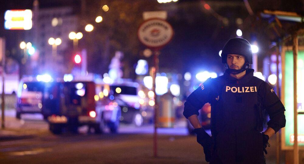 Austria, Vienna dopo l'attacco, secondo novembre del 2020