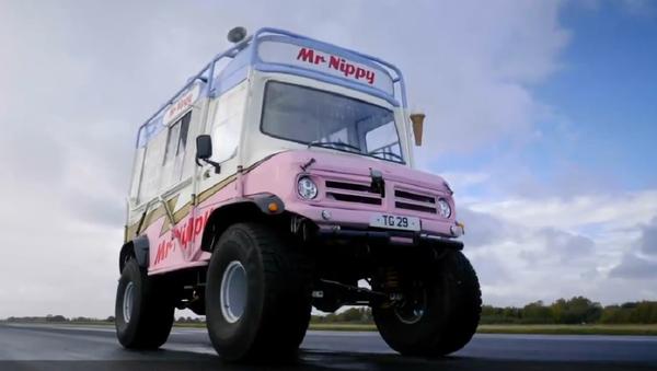 La furgoneta de helados Mr Nippy  - Sputnik Italia