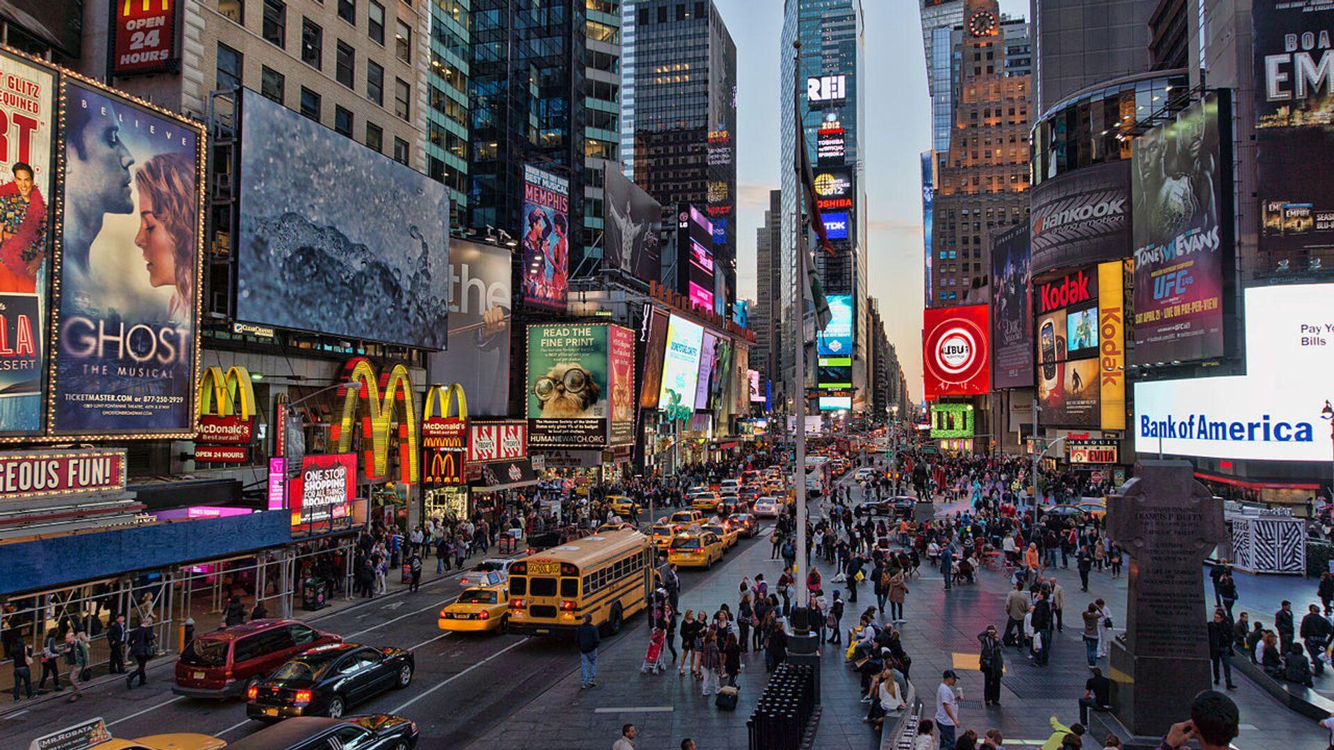 Time Square, New York - Sputnik Italia, 1920, 23.05.2021