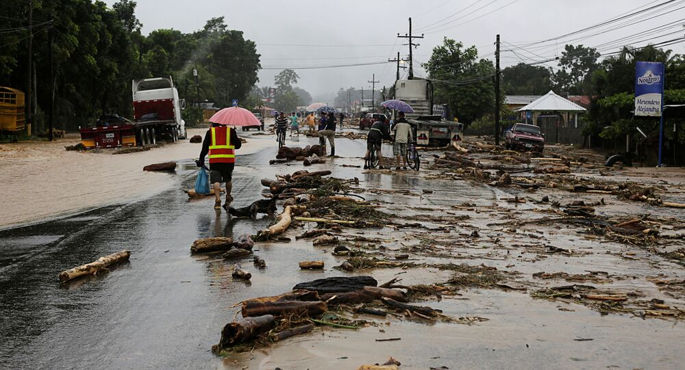 Uragano Eta Honduras