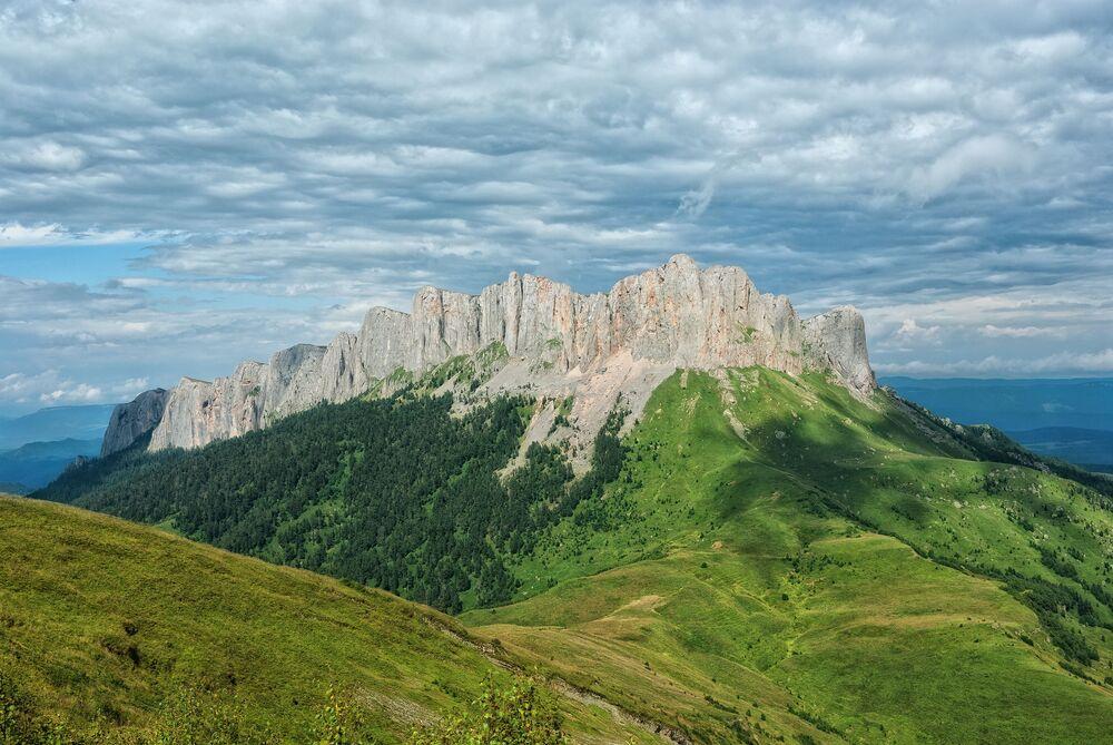 Monte Thach nella Repubblica di Adighezia, Russia.