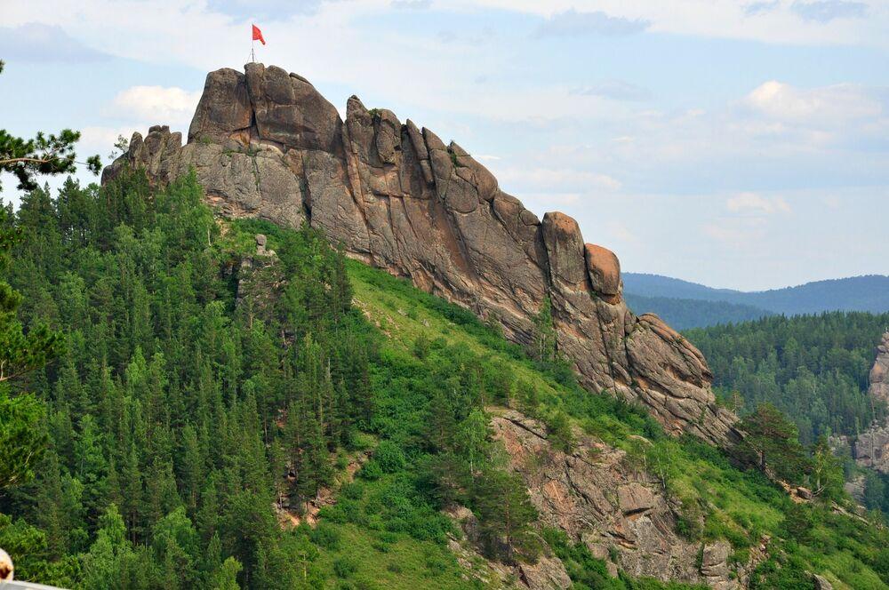 Riserva naturale Stolby, regione di Krasnoyarsk, Russia.