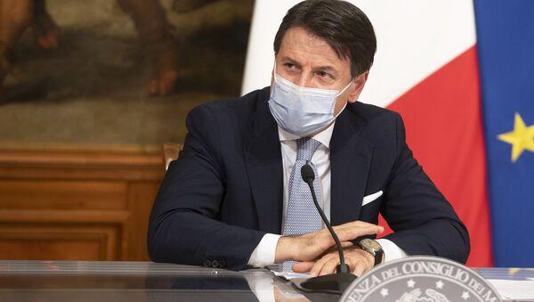 Dpcm 3 novembre 2020, conferenza stampa del Presidente Conte - Sputnik Italia