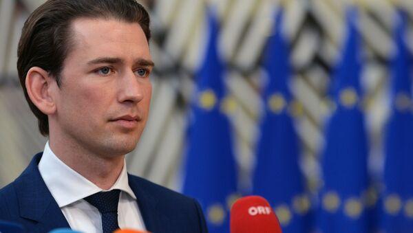 Il cancelliere federale austriaco Sebastian Kurz - Sputnik Italia