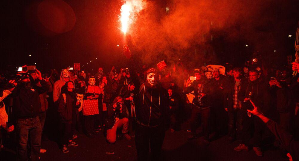 Marcia del milione di maschere (foto d'archivio)