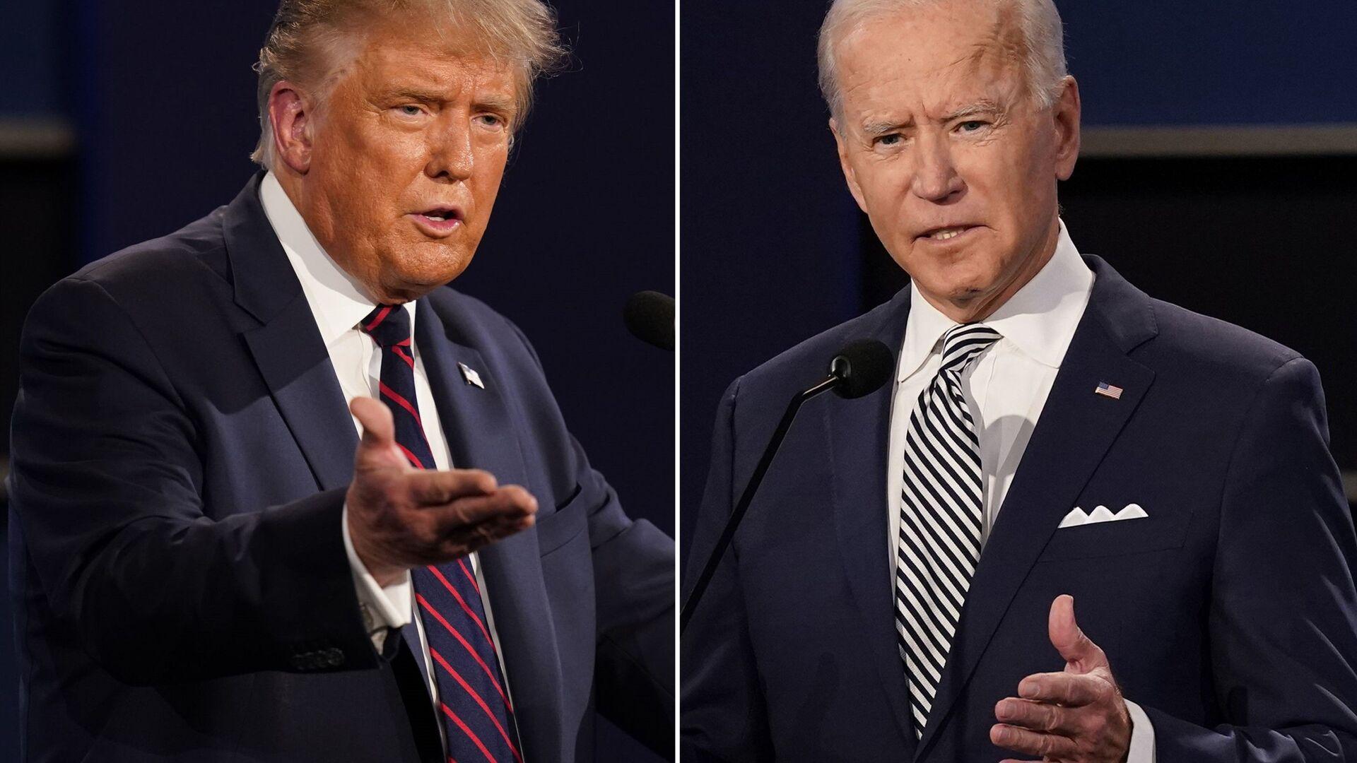 Scontro tra Joe Biden e Donald Trump - Sputnik Italia, 1920, 18.05.2021