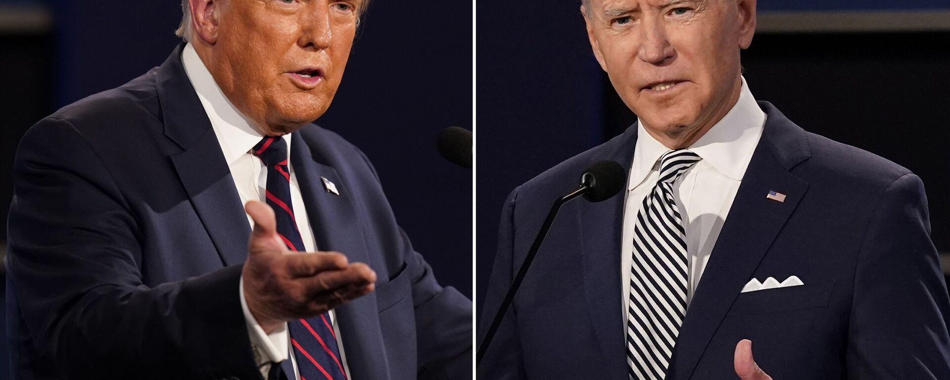 Scontro tra Joe Biden e Donald Trump - Sputnik Italia, 1920, 15.03.2021