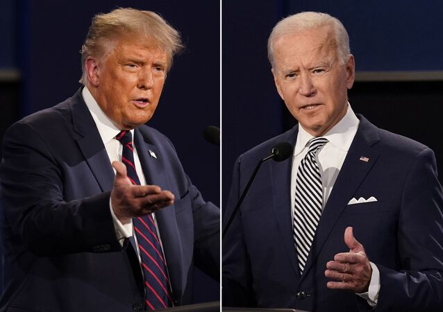 Scontro tra Joe Biden e Donald Trump