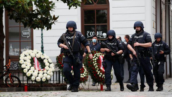 La polizia a Vienna - Sputnik Italia