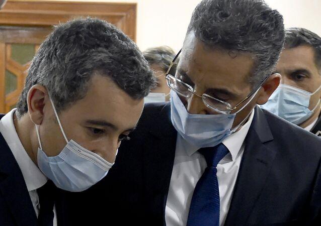 Taoufik Charfeddine et Gérald Darmanin, Tunisie