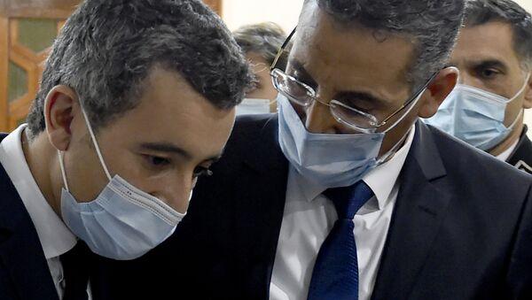 Taoufik Charfeddine e Gérald Darmanin, Tunisia - Sputnik Italia