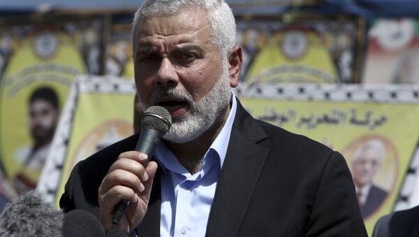 Ismail Haniyeh, leader del movimiento Hamás (archivio) - Sputnik Italia