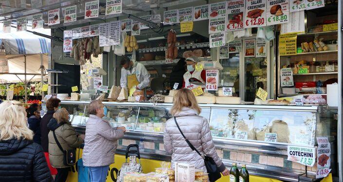 Al mercato di Pioltello