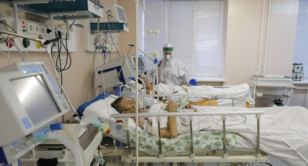 Malati di Covid ricoverati in ospedale (foto d'archivio)