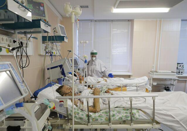 Un hôpital russe pour les personnes atteintes du Covid-19 (archive photo)