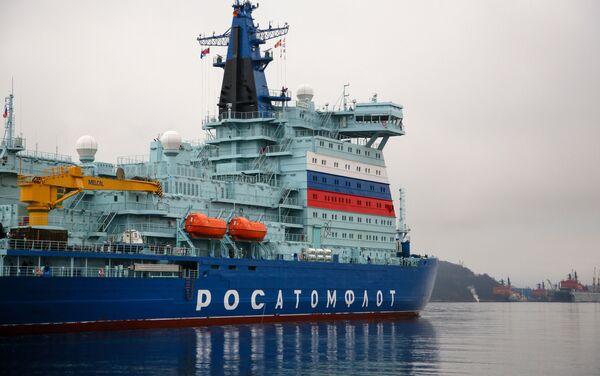 Rompighiaccio nucleare russa Arktika entrerà in servizio ufficialmente questa settimana - Sputnik Italia
