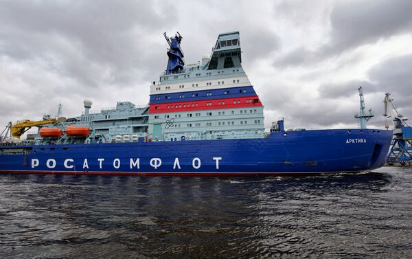 Rompighiaccio nucleare russa Arktika  - Sputnik Italia
