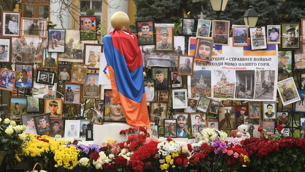 L'ambasciata dell'Armenia a Mosca - Sputnik Italia