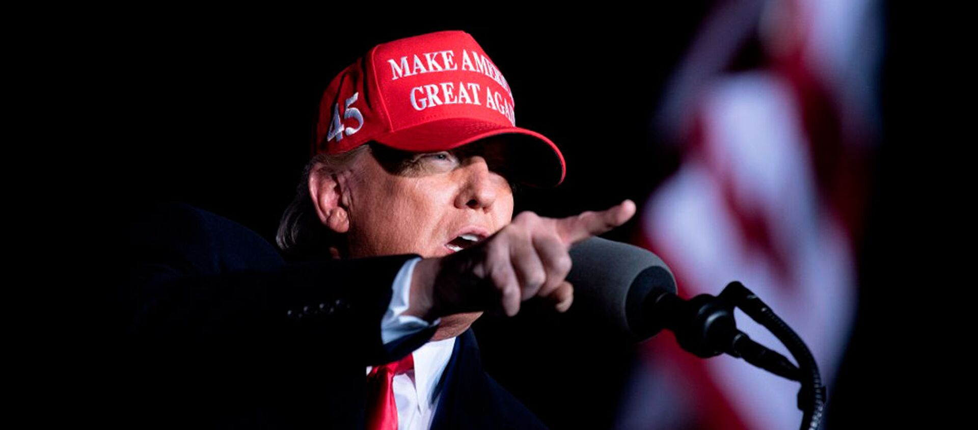 Donald Trump - Sputnik Italia, 1920, 06.12.2020