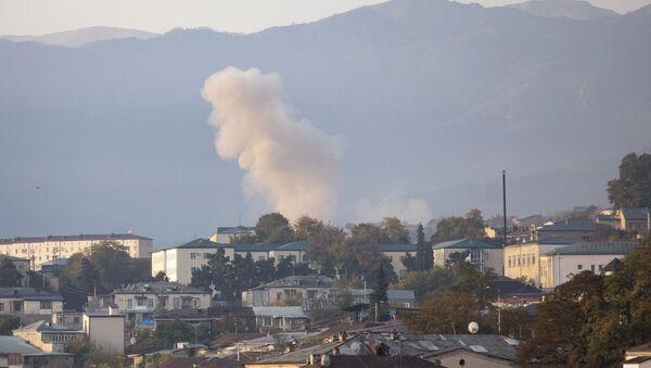 Stepanakert dopo l'attacco - Sputnik Italia