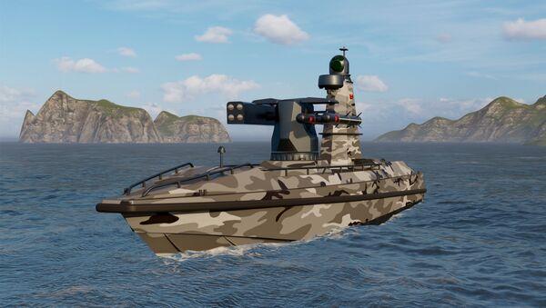 Il primo veicolo di superficie senza pilota armato della Turchia ULAQ sarà il nuovo guardiano della patria blu - Sputnik Italia