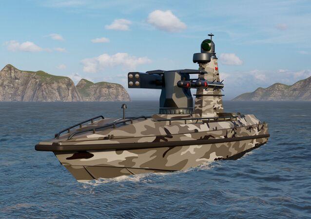 Il primo veicolo di superficie senza pilota armato della Turchia ULAQ sarà il nuovo guardiano della patria blu