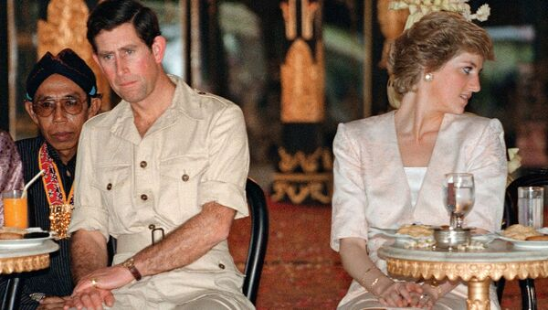 Carlo e Diana nel 1989 - Sputnik Italia