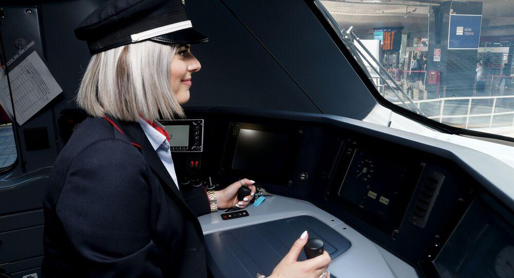 Presentazione dei nuovi treni per il trasporto regionale di FS nel Lazio