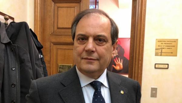 Presidente della Federazione nazionale degli Ordini dei Medici (Fnomceo), Filippo Anelli. - Sputnik Italia