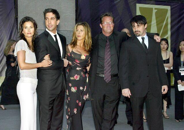 Cast di 'Friends' quasi al completo