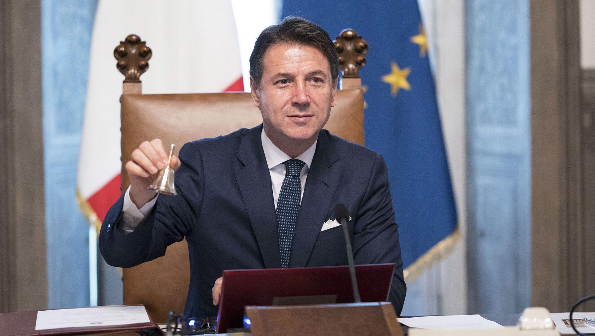 Il Presidente del Consiglio Giuseppe Conte - Sputnik Italia, 1920, 08.05.2021
