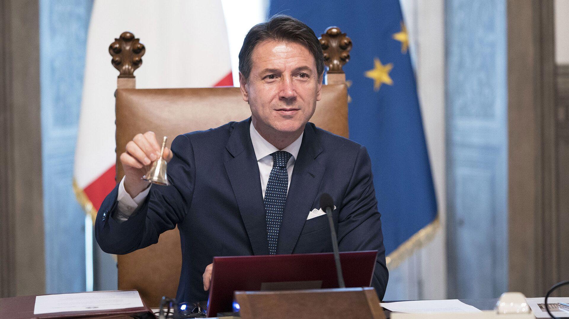 Il Presidente del Consiglio Giuseppe Conte - Sputnik Italia, 1920, 30.06.2021