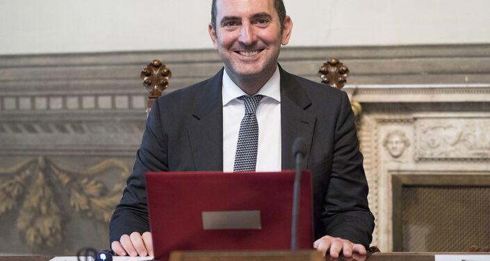 Il Ministro per le Pari Opportunità e la Famiglia, Vincenzo Spadafora
