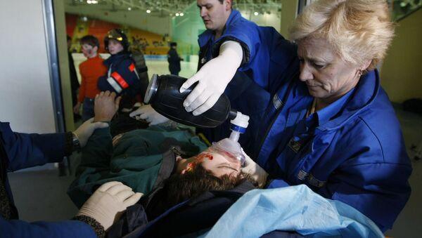 Esercitazione dei servizi di emergenza - Sputnik Italia