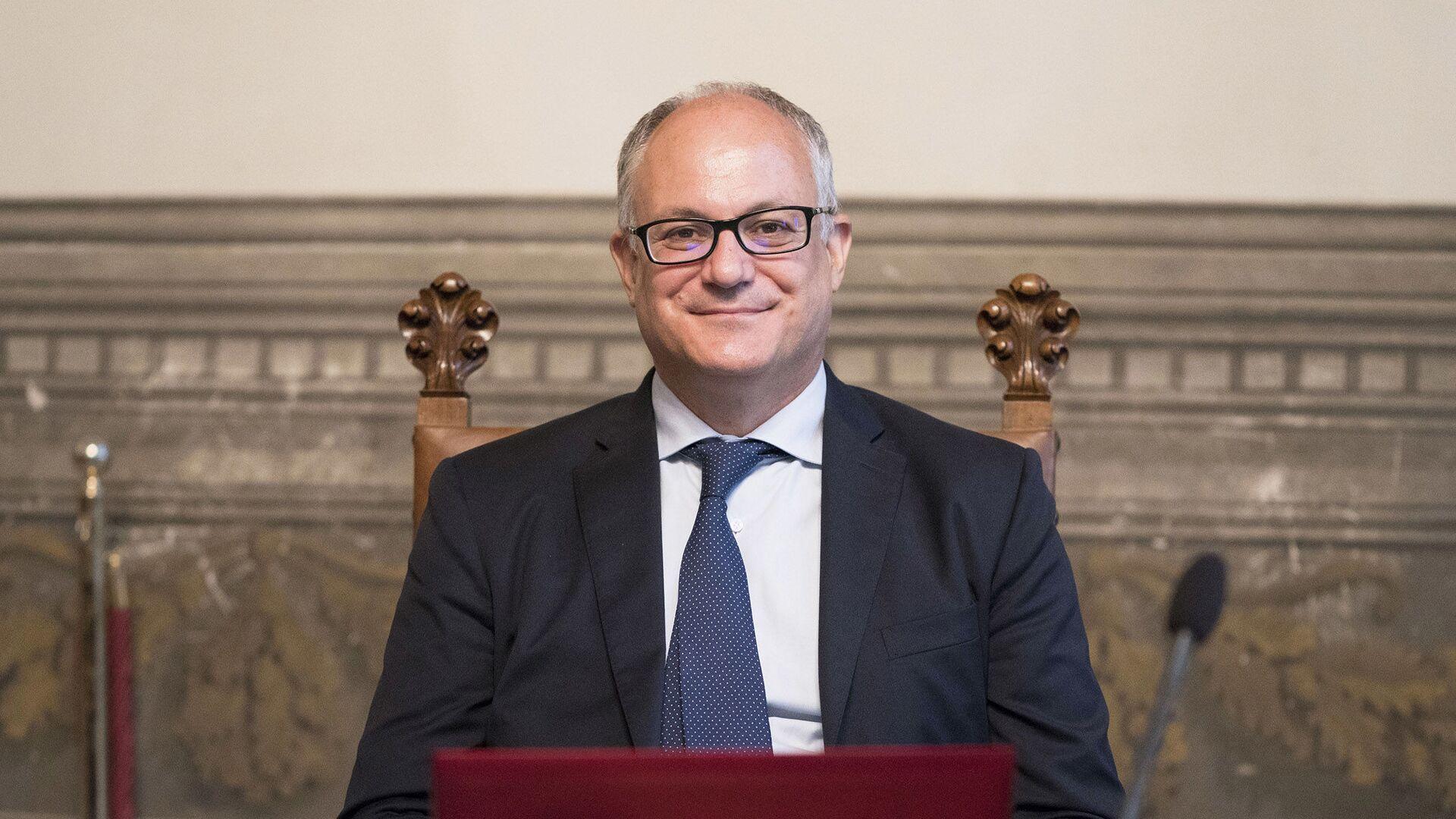 Il Ministro dell'Economia e delle Finanze, Roberto Gualtieri - Sputnik Italia, 1920, 20.05.2021
