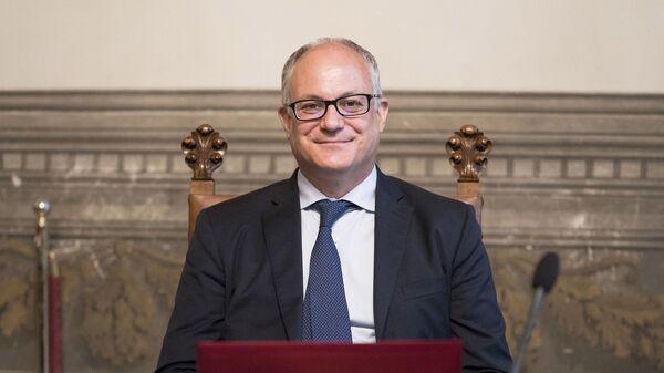 Il Ministro dell'Economia e delle Finanze, Roberto Gualtieri - Sputnik Italia
