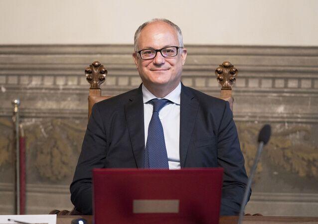 Il Ministro dell'Economia e delle Finanze, Roberto Gualtieri