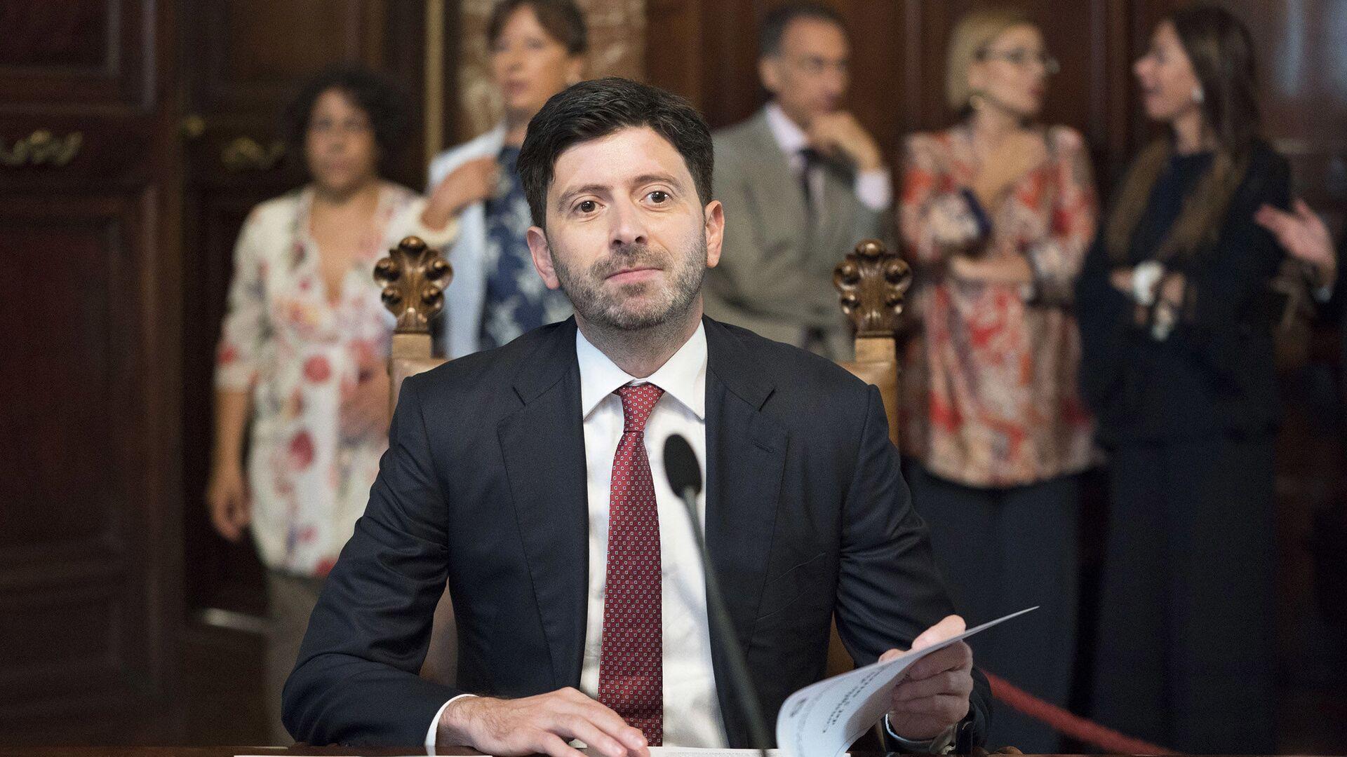 Il Ministro della Salute, Roberto Speranza - Sputnik Italia, 1920, 05.09.2021