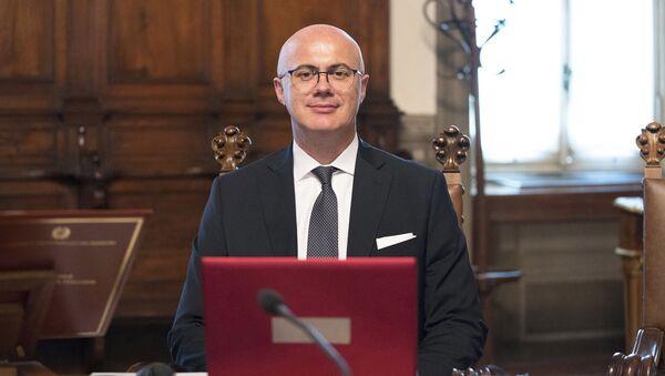 Il Ministro per i Rapporti con il Parlamento, Federico D'Incà - Sputnik Italia